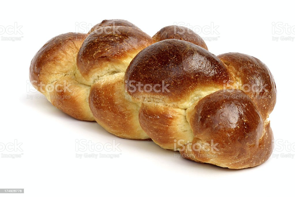 Fresh Challah Bread - Series stock photo