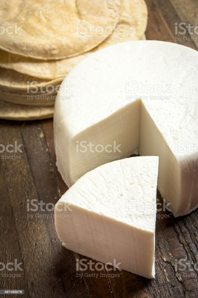 Queso Fresco stock photo