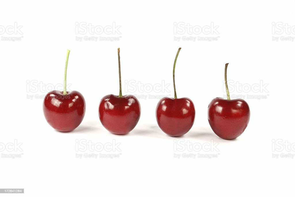 fresh cherries royalty-free stock photo