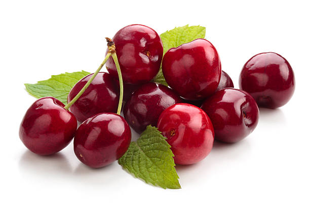 Fresh Cherries. stock photo