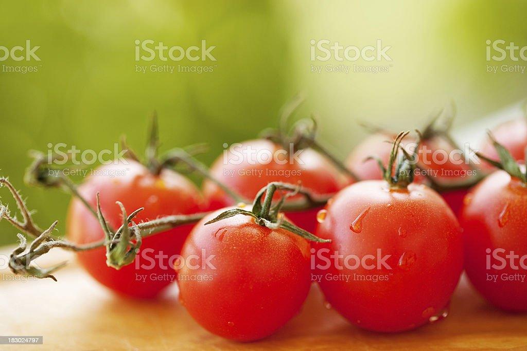 Fresh Cherry tomato royalty-free stock photo
