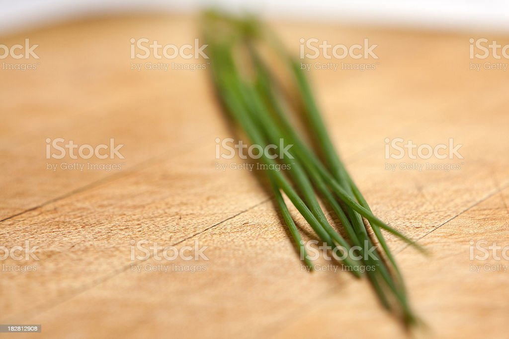 Fresh Chives stock photo