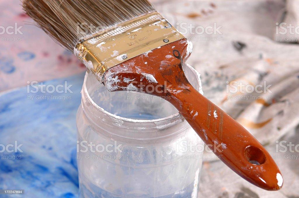 Fresh Coat of Paint royalty-free stock photo