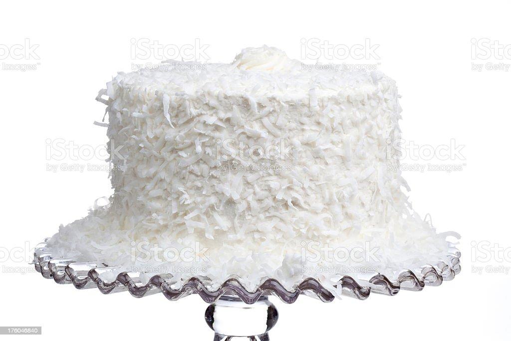 Bolo de coco fresco - foto de acervo