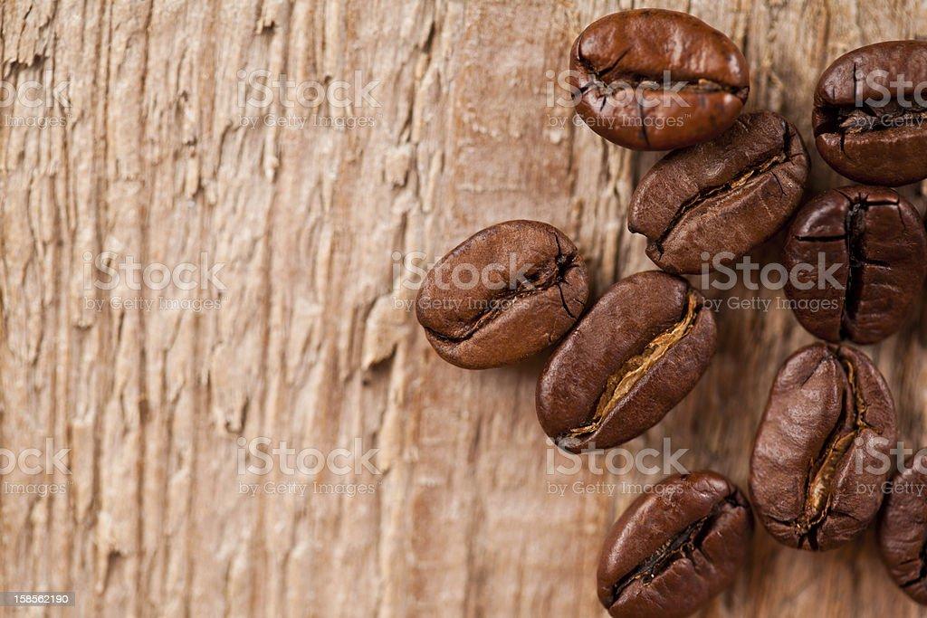 신선한 커피 원두 royalty-free 스톡 사진