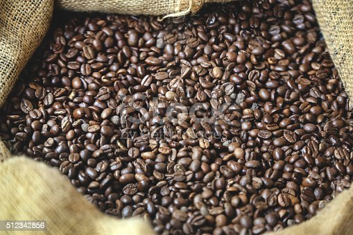 istock Fresh coffee beans 512342856