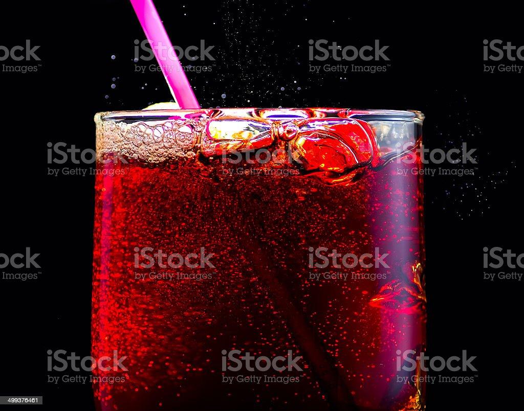 Fresh cola stock photo