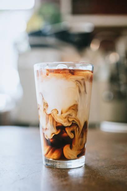 Fresh Cold Brew Coffee stock photo