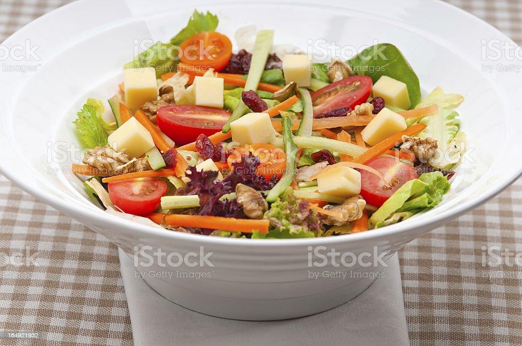 Fresh colorful healthy salad royalty-free stock photo