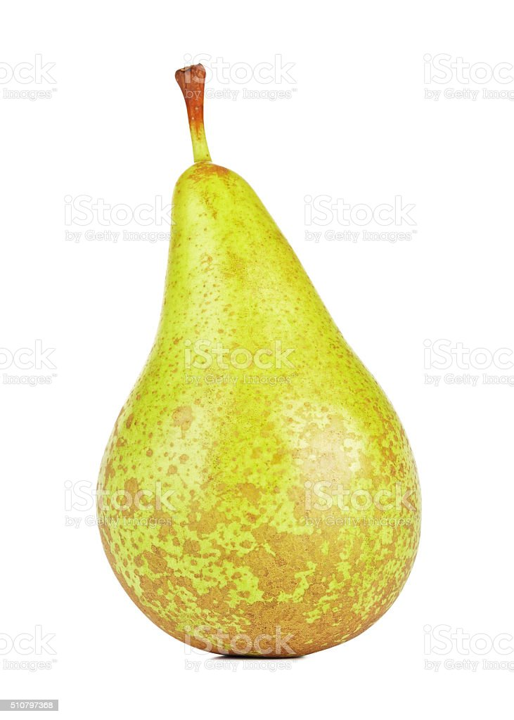 Fresh Conference Pear stock photo