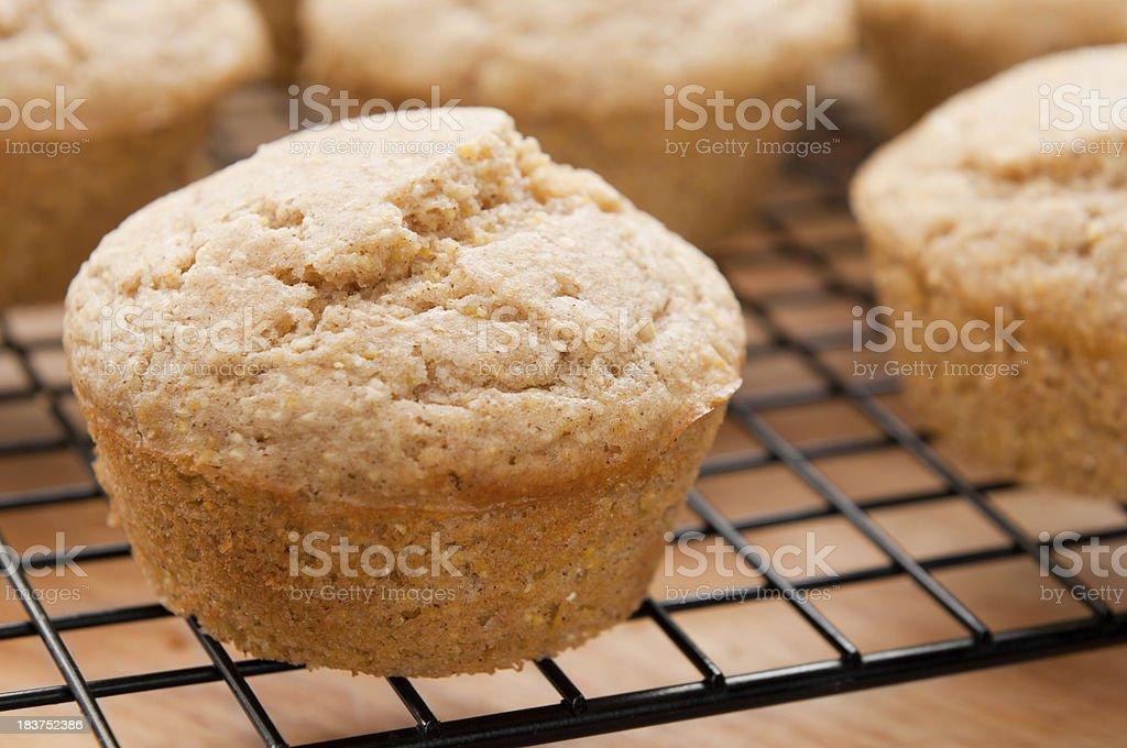 Fresh Corn Muffins royalty-free stock photo