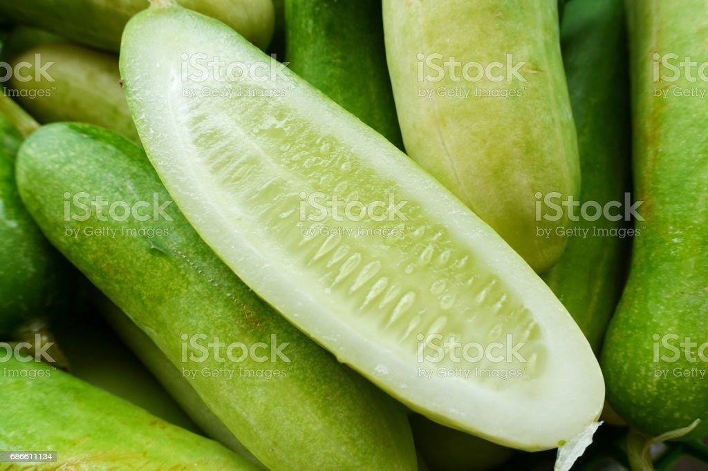 fresh cucumber sliced royalty-free stock photo