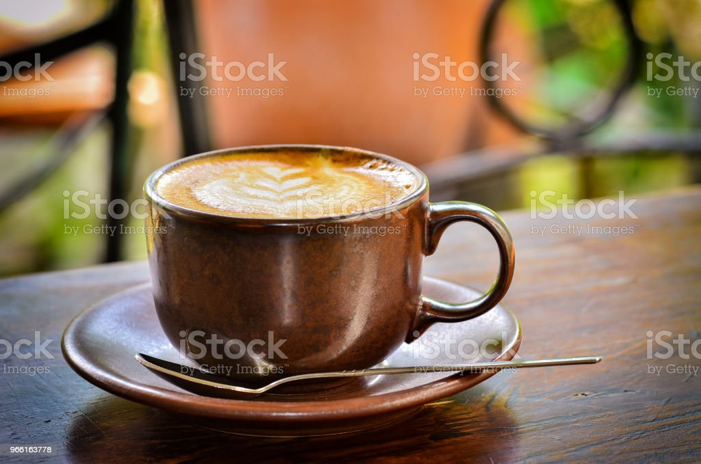 Fresh Cup of coffee - Royalty-free Art Stock Photo
