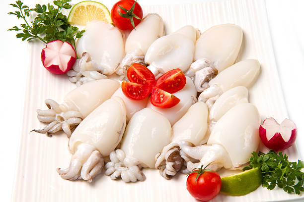 fresh cuttlefish fresh cuttlefish cuttlefish stock pictures, royalty-free photos & images