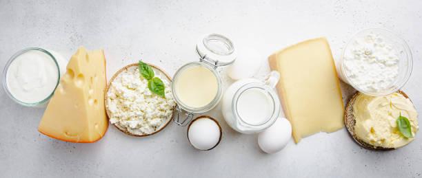 Frische Milchprodukte – Foto