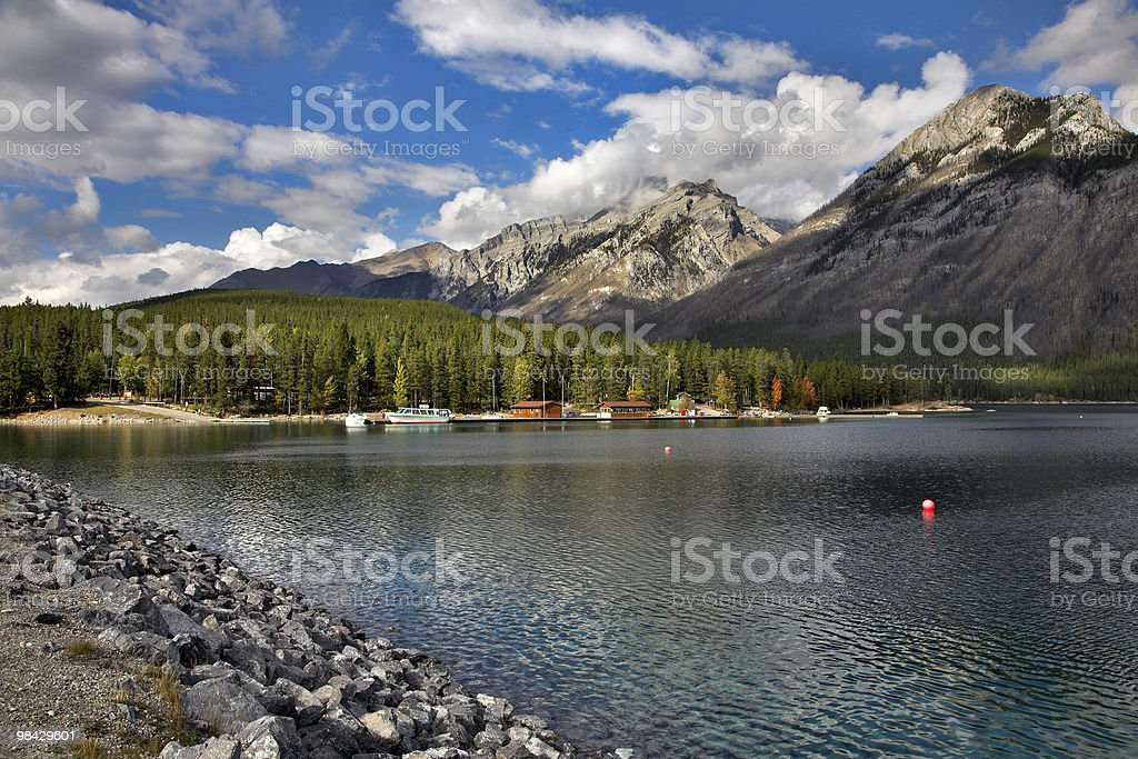 Fresh day on lake. royalty-free stock photo