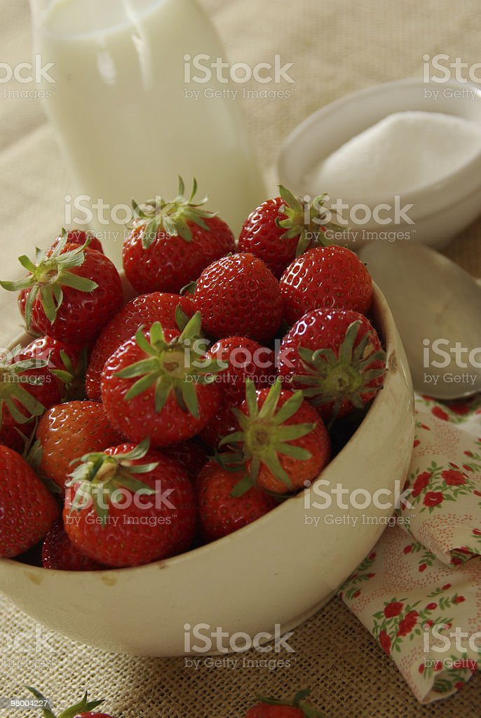 Fresh Dessert royalty-free stock photo
