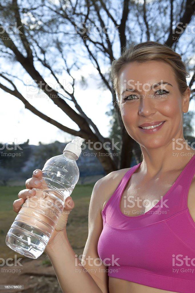 Fresh drinking water royalty-free stock photo