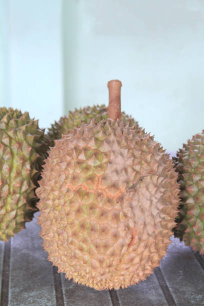 Fresh durian. King of fruit From the garden of thailand