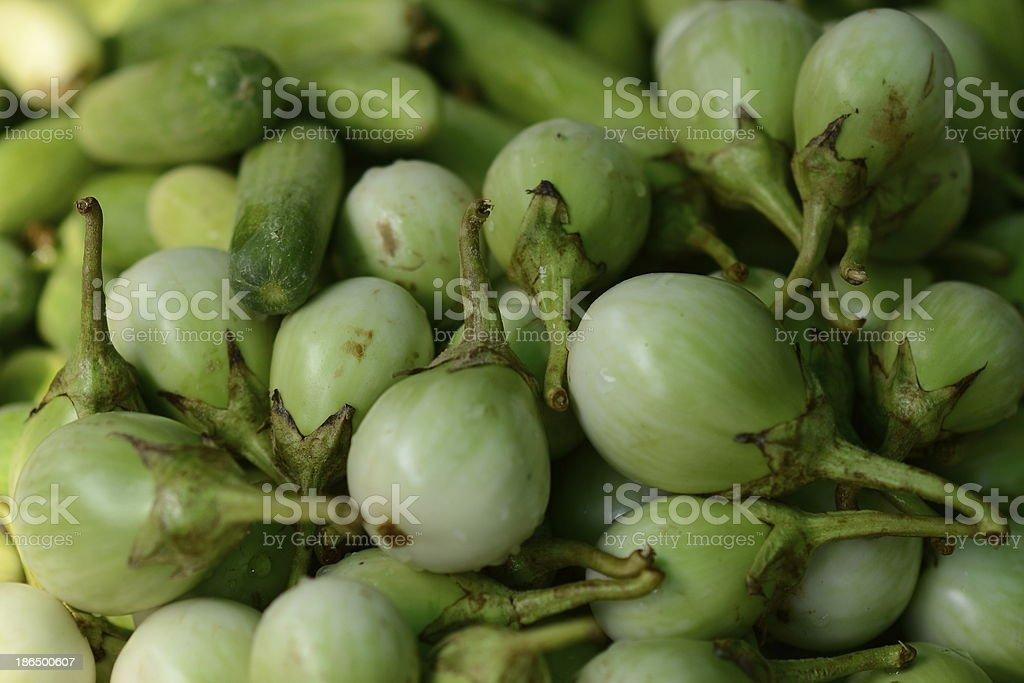 fresh  Eggplant royalty-free stock photo