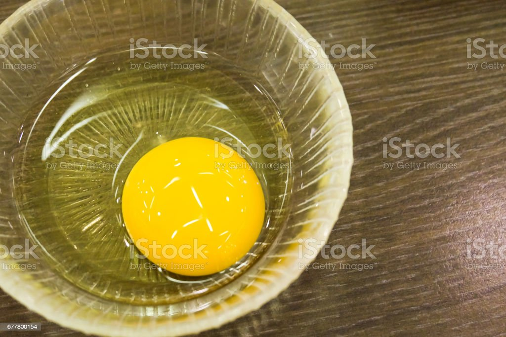 fresh eggs in a bowl royalty-free stock photo