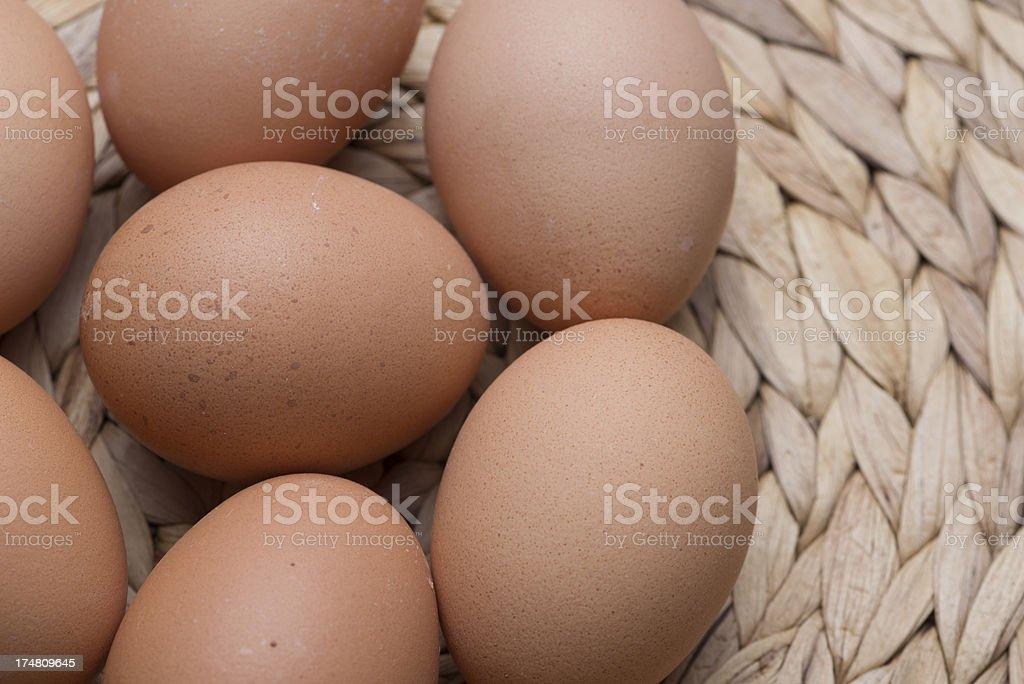 fresh eggs royalty-free stock photo