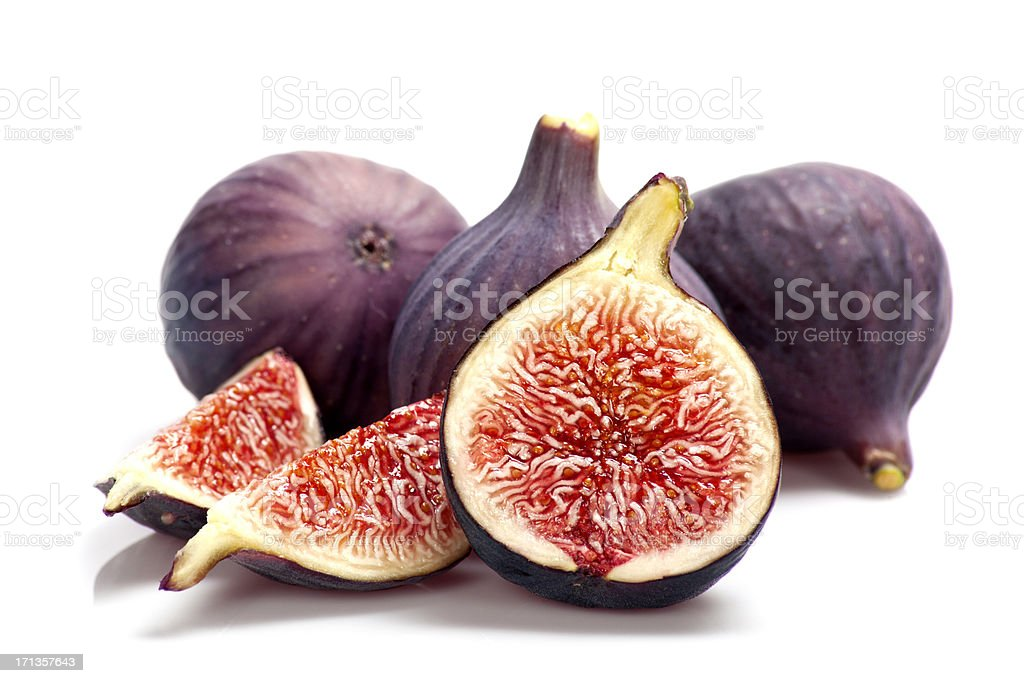 Fresh figs stock photo