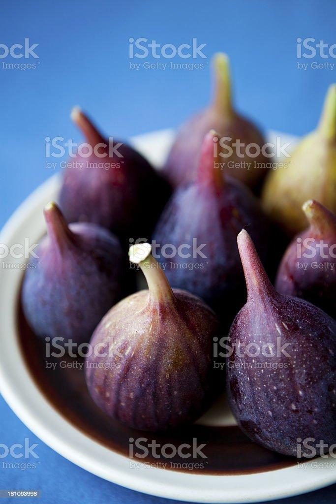 Fresh Figs royalty-free stock photo