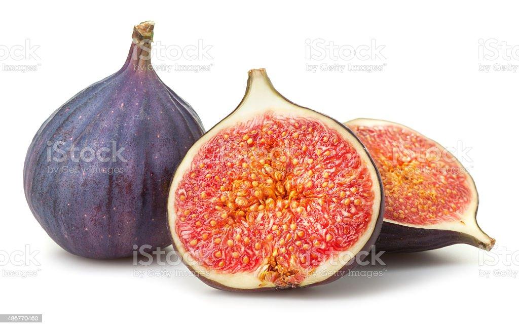 Fresh figs stock photo