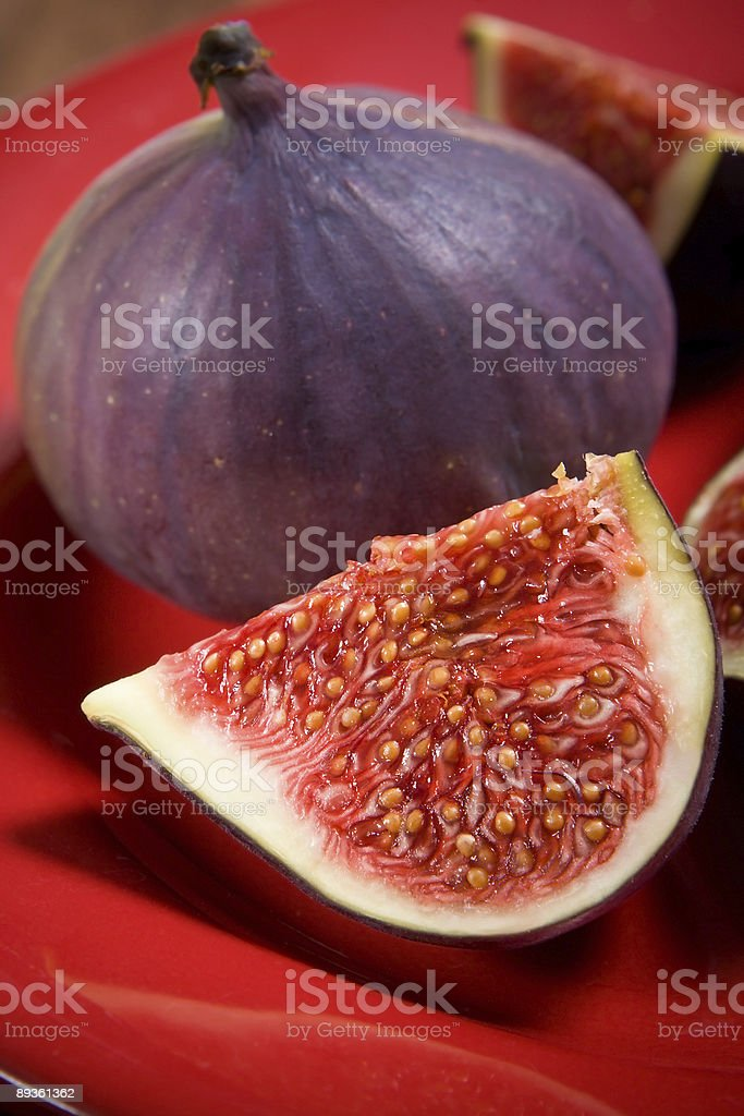 Fresh figs royalty free stockfoto