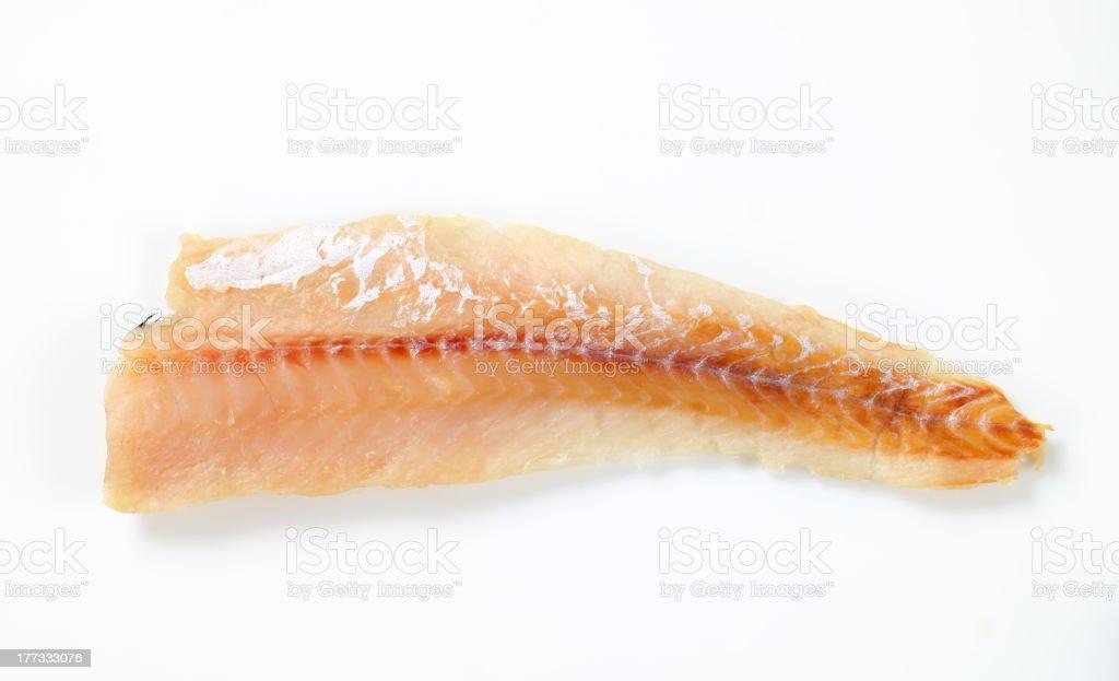 Fresh fish fillet stock photo