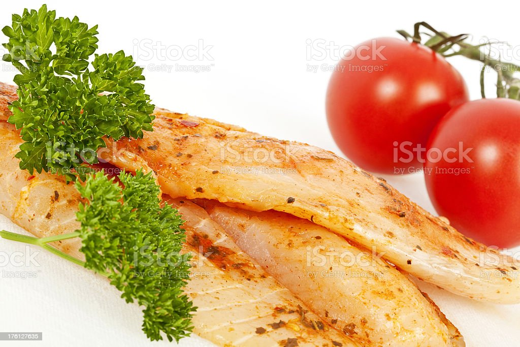Fresh Fish Fillets royalty-free stock photo
