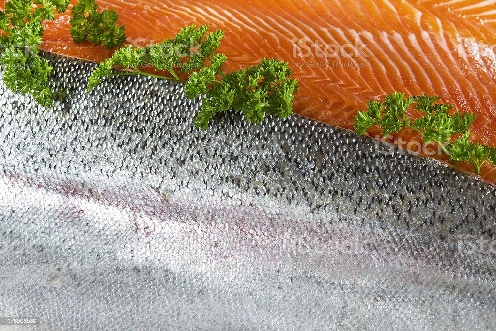 Fresh Fish Fillets royalty-free stock photo