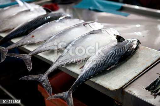 635931692 istock photo Fresh Fish on the Fish Market in Borneo (Malaysia) 924511808