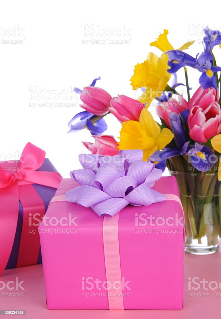 Fresh Flowers And Gifts royalty-free stock photo