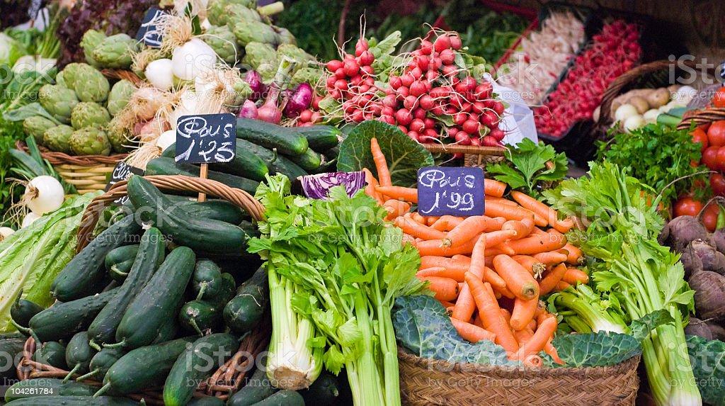 Fresh food series stock photo