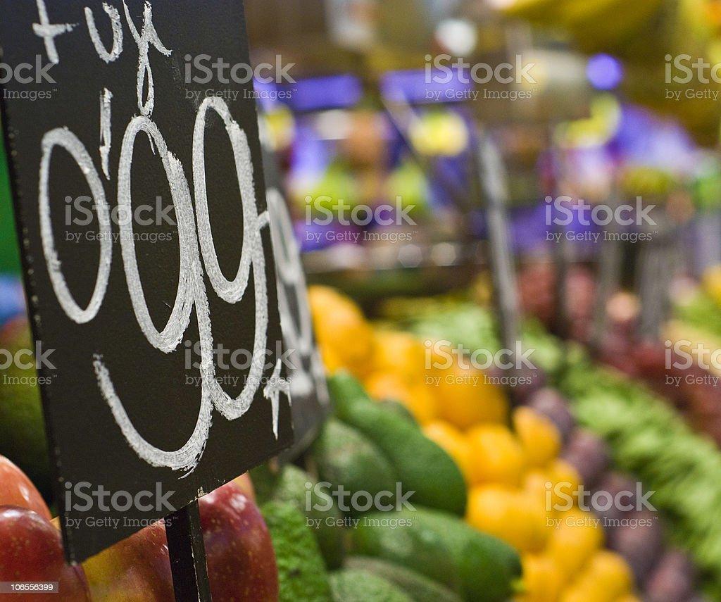 Fresh food series royalty-free stock photo