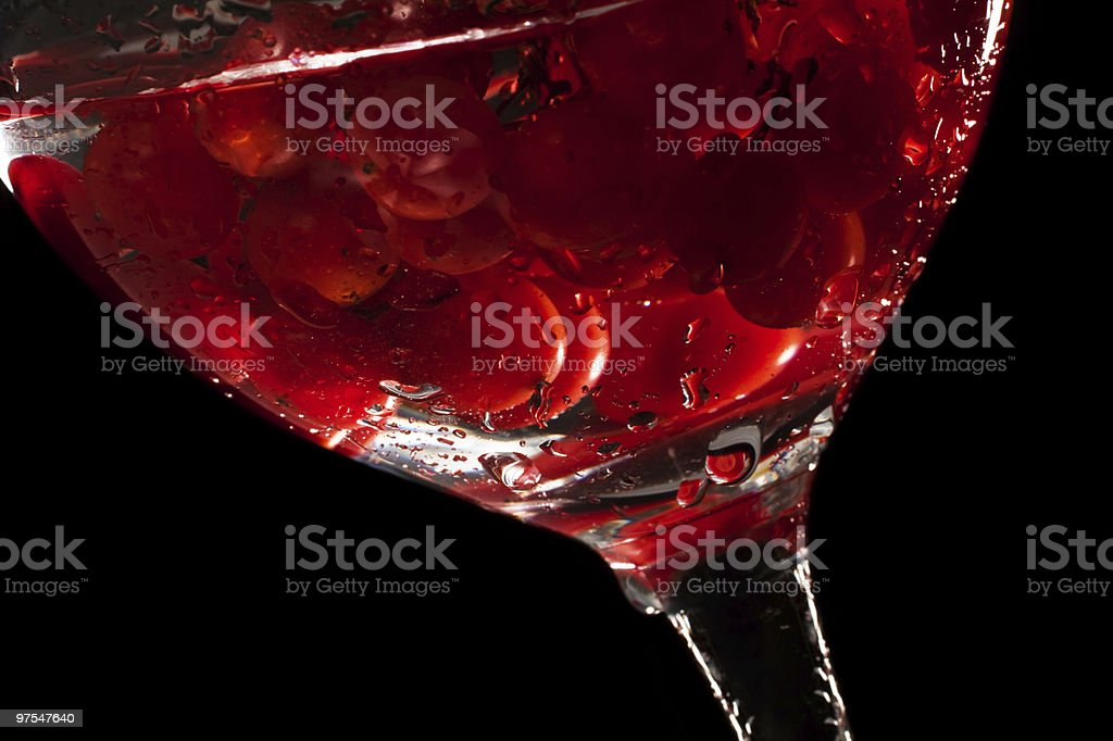 fresh fruit in the water royalty-free stock photo