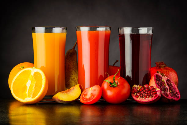 Top 60 Fruit Juice Stock Photos, Pictures, And Images