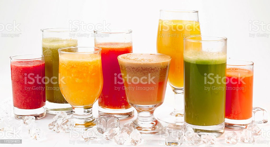 Fresh Fruit Juice stock photo