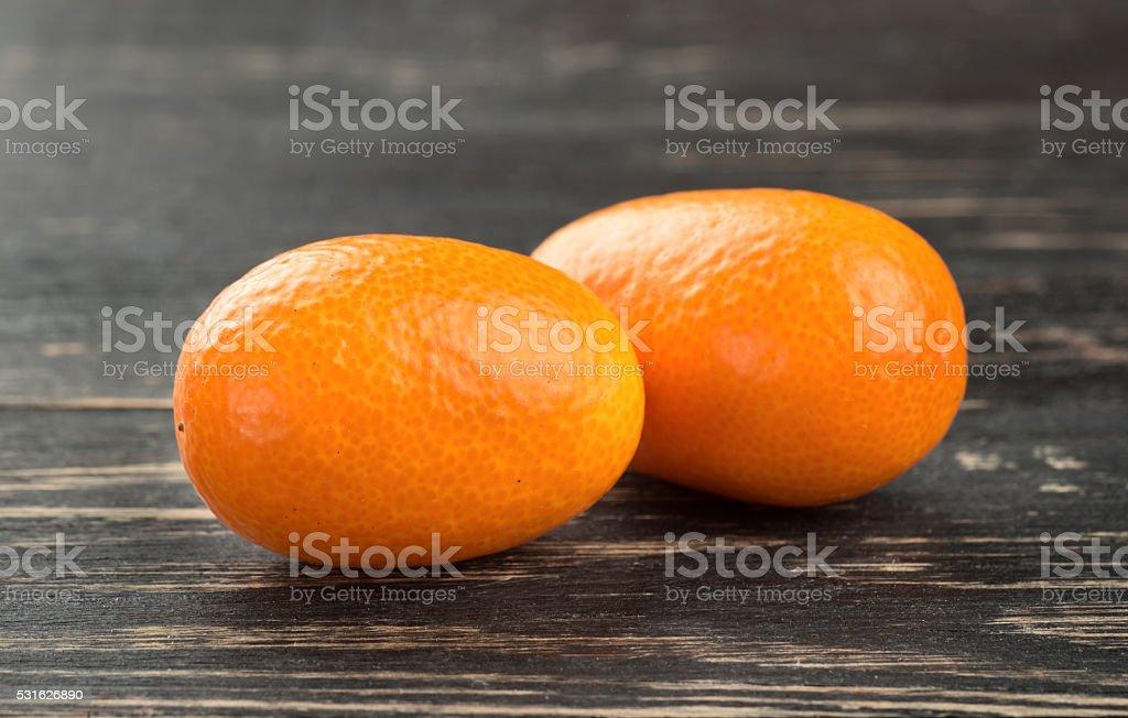 Fresh fruit kumquat stock photo