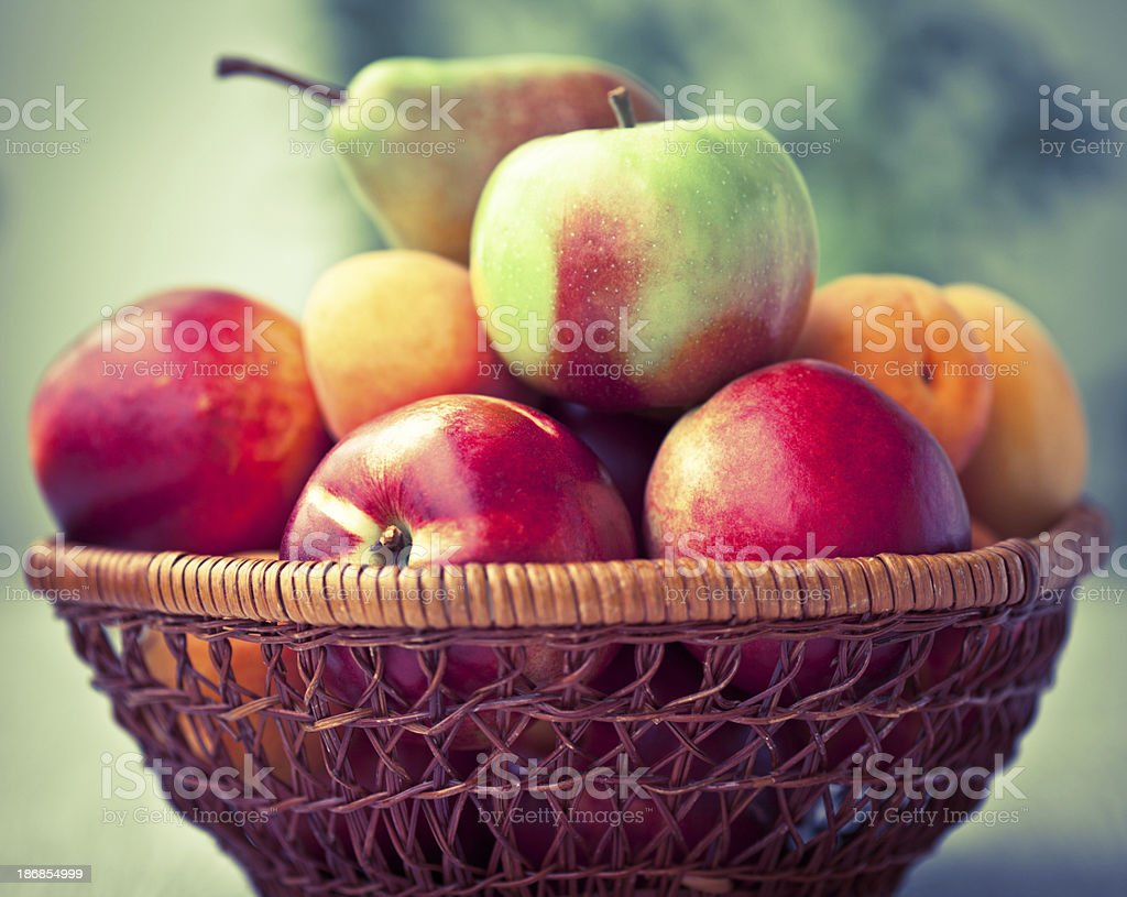 Fresh fruit stock photo