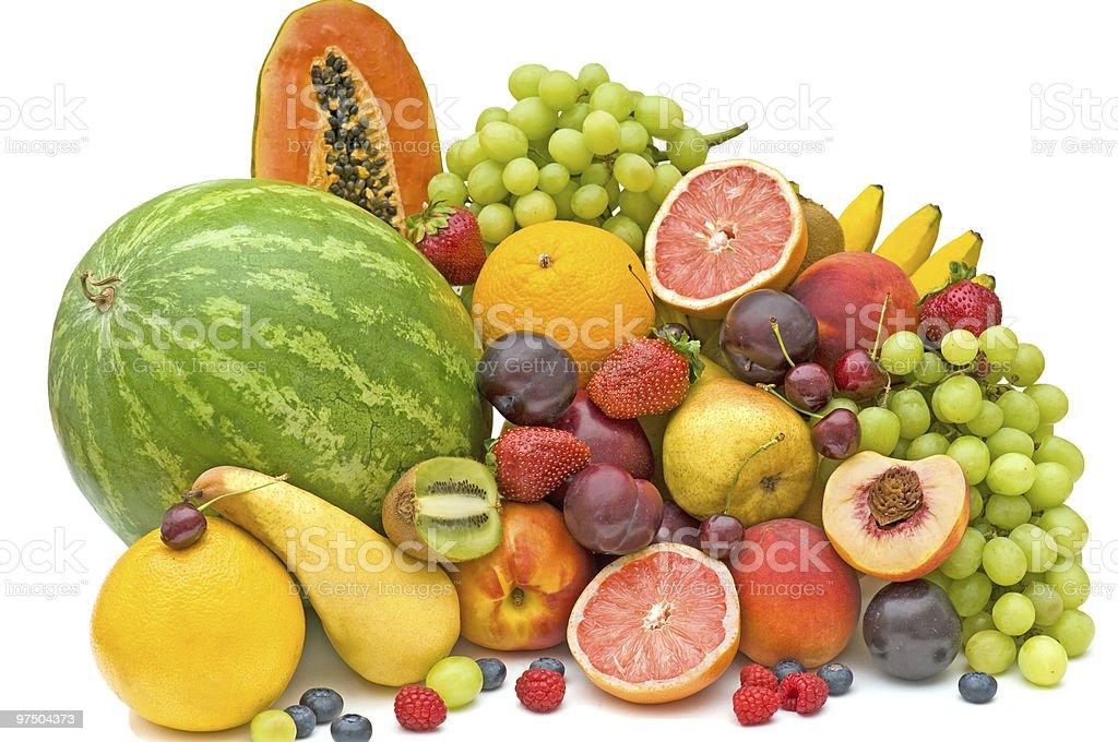 Fresh fruit. royalty-free stock photo