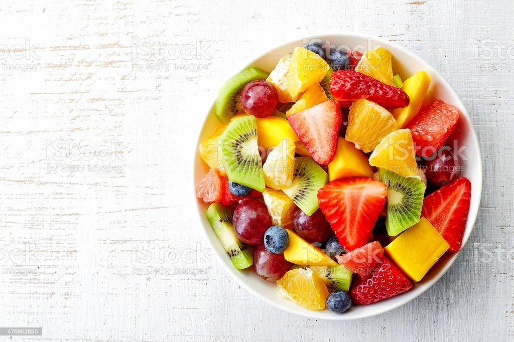 Fresh fruit salad - 免版稅2015年圖庫照片