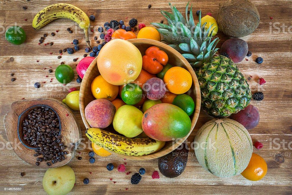 Frisches Obst-Salat – Foto