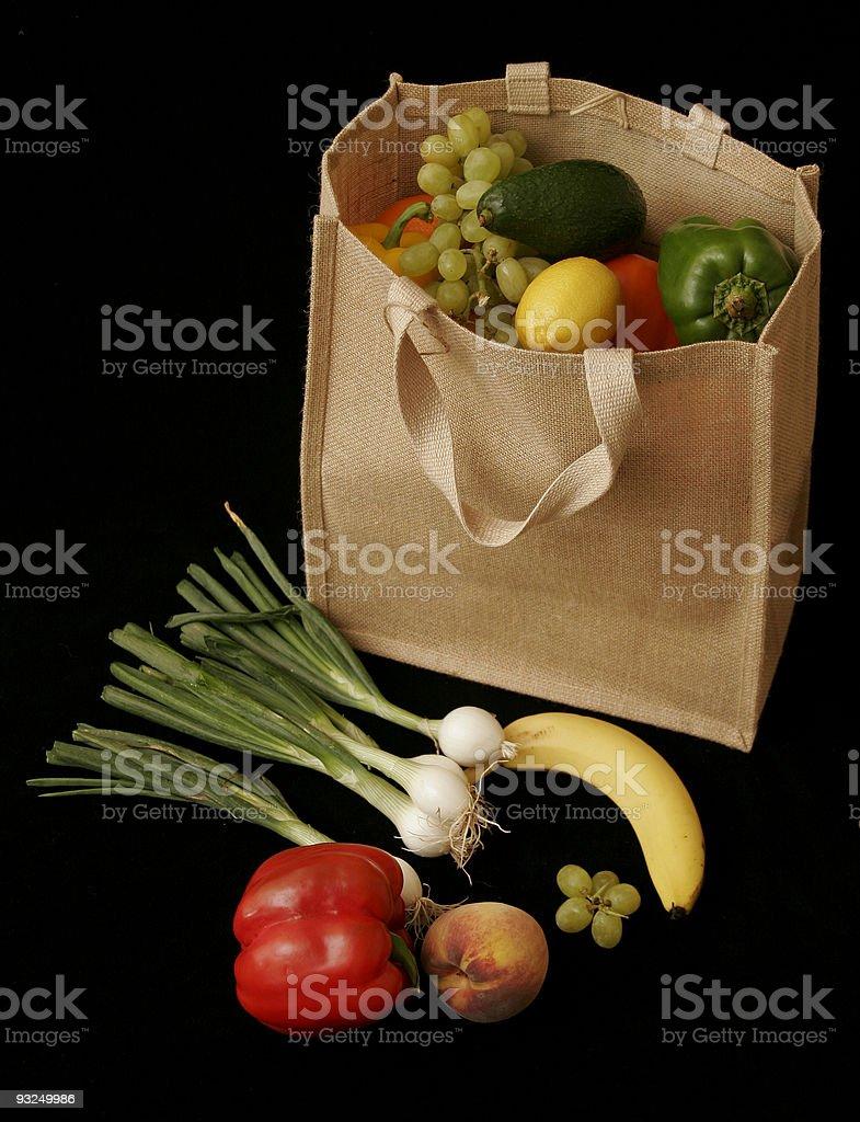 fresh fruit shopping royalty-free stock photo