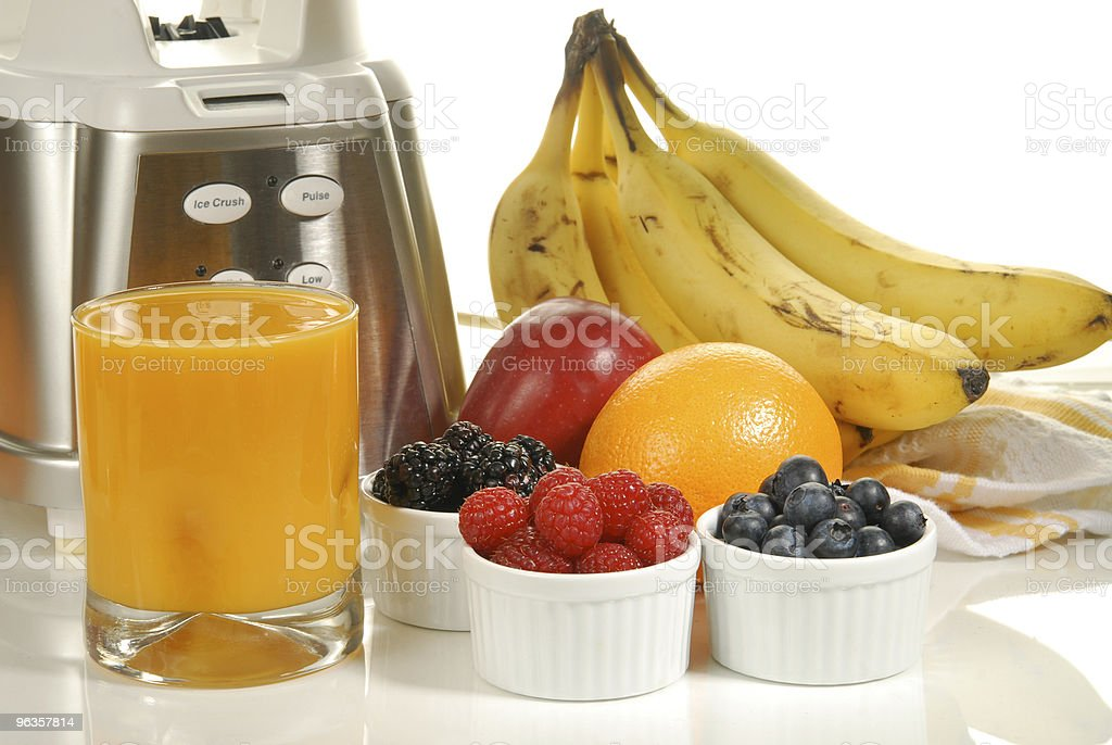 Fresh Fruit Smoothie royalty-free stock photo