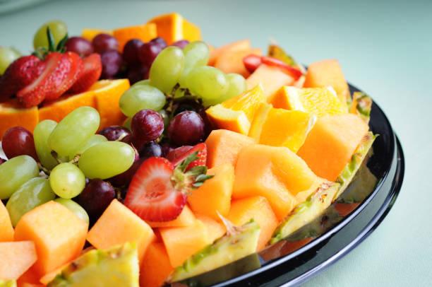 Fresh Fruit Tray stock photo
