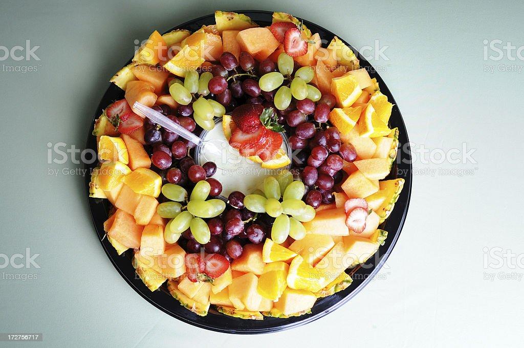 Fresh Fruit Tray royalty-free stock photo