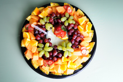 Fresh Fruit Tray Stock Photo - Download Image Now